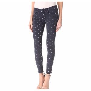 Mother the looker ankle jeans 25